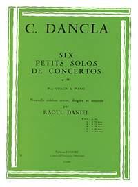 Charles Dancla: Petit solo de concerto Op.141 n°1 en sol maj.