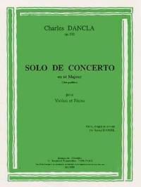 Charles Dancla: Solo de concerto en ut majeur Op.210