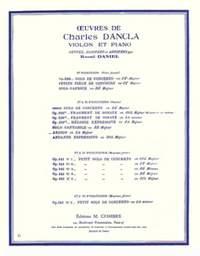 Charles Dancla: Arioso en la maj.