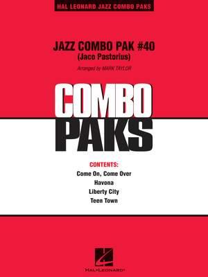 Pastorius, J: Jazz Combo Pak #40