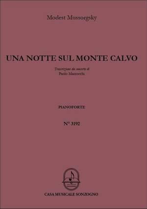 Modest Mussorgsky: Una notte sul Monte Calvo