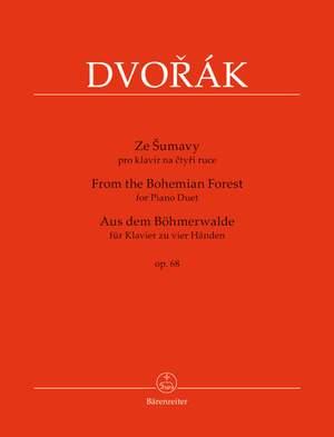 Dvorák, Antonín: From the Bohemian Forest for Piano Duet op. 68