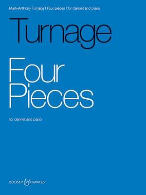 Turnage, M: Four Pieces