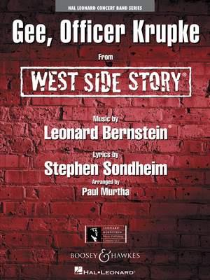 Leonard Bernstein: Gee, Officer Krupke - From West Side Story
