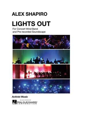 Alex Shapiro: Lights Out Product Image