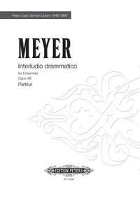 Meyer, Krzysztof: Interludio drammatico