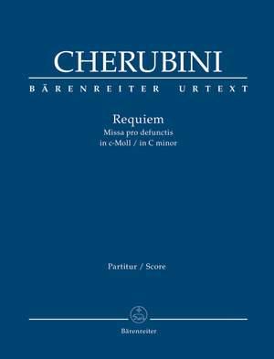Cherubini, Luigi: Requiem in C minor Full score