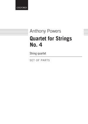 Powers, Anthony: String Quartet No. 4