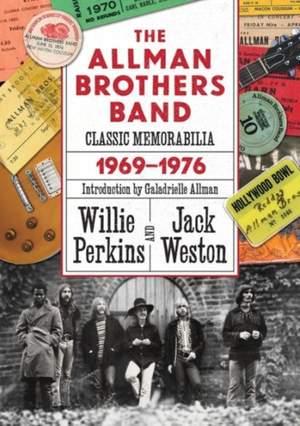 The Allman Brothers Band Classic Memorabilia 1969-1976