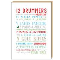 12 Days Of Christmas - Christmas Card
