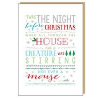 Night Before Christmas Card