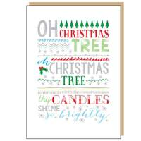 Oh Christmas Tree Card