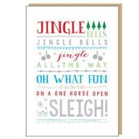 Jingle Bells - Christmas Card
