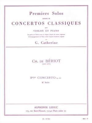 Pierre Rode: First Solos extracted from the Classic Concertos