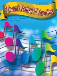 John W. Schaum: Schaum's Festival of Favorites