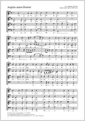 Anerio, Felice: Angelus autem Domini