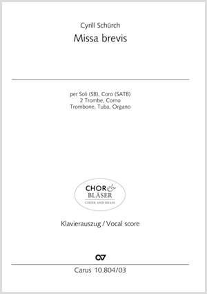 Schürch, Cyrill: Missa brevis