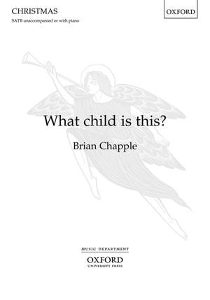 Chapple, Brian: What child is this?