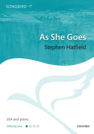 Hatfield, Stephen: As She Goes