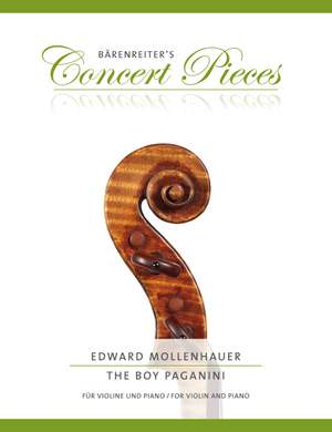 Edward Mollenhauer: The Boy Paganini