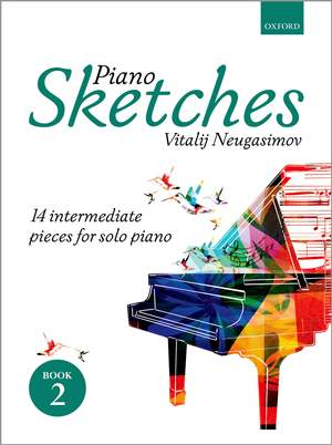 Neugasimov, Vitalij: Piano Sketches Book 2