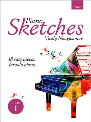 Neugasimov, Vitalij: Piano Sketches Book 1