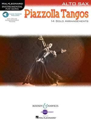 Piazzolla, A: Piazzolla Tangos Alto Saxophone