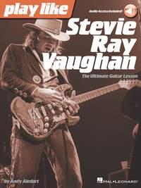 Andy Aledort: Play like Stevie Ray Vaughan