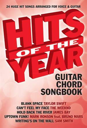 Hits Of The Year 2015 Guitar Chord Songbook