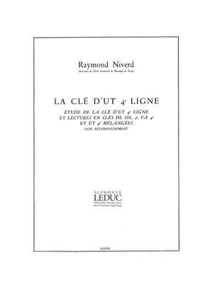 Lucien Niverd: Niverd Cle Dut 4eme Ligne Technical Studies