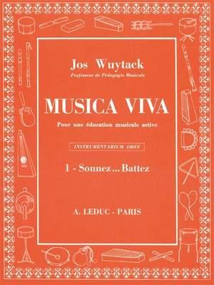 Wuytack: Musica Viva vol. 1: Sonnez Battez