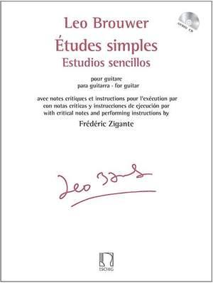 Leo Brouwer: Etudes simples - Estudios sencillos