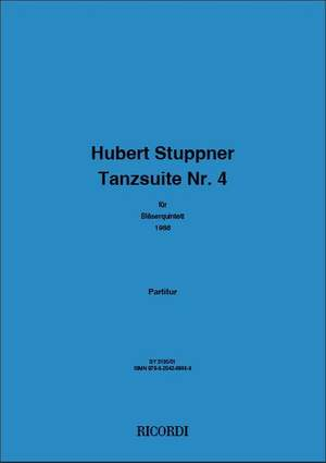 Hubert Stuppner: Tanzsuite Nr. 4