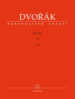 Dvorák, Antonín: Dumky Trio op. 90 Product Image