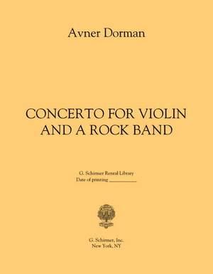 Avner Dorman: Concerto for Violin and A Rock Band