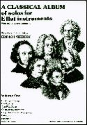 Classical Album for E Flat Insts Book 1
