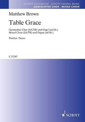 Brown, M: Table Grace Product Image