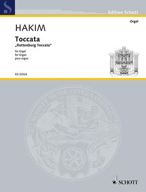 Hakim, N: Toccata