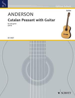 Anderson, J: Catalan Peasant with Guitar