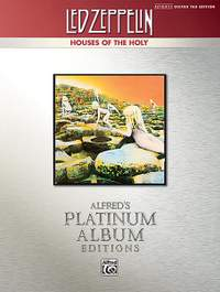 Led Zeppelin: Houses of the Holy Platinum Guitar