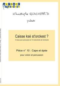 Christophe Guichard: Cape Et Epee