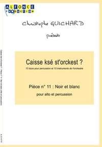 Christophe Guichard: Noir Et Blanc