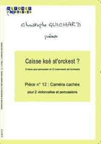 Christophe Guichard: Camera Cachee