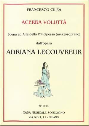 F. Cilea: Acerba Voluttà - O Vagabonda Stella D'Oriente (Ms)