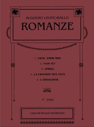 Ruggero Leoncavallo: Romanze