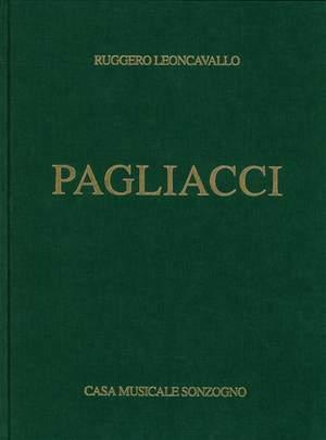 Ruggero Leoncavallo: Pagliacci Opera Completa (Rilegata)