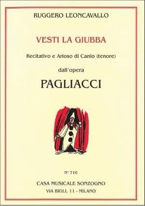 Ruggero Leoncavallo: Pagliacci Vesti La Giubba (T)