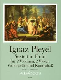 Pleyel, I J: Sextet op. 37