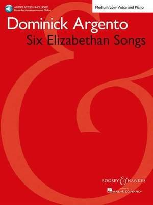 Argento, D: Six Elizabethan Songs