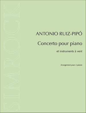 Ruiz-Pipó, A: Concerto pour piano et instruments a? vent